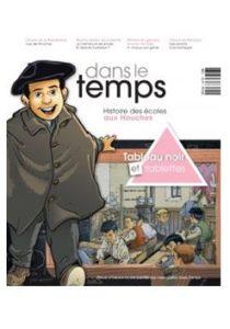 Revue Dans le temps de l'association Les Houches avec les Guides du Patrimoine Savoie Mont Blanc