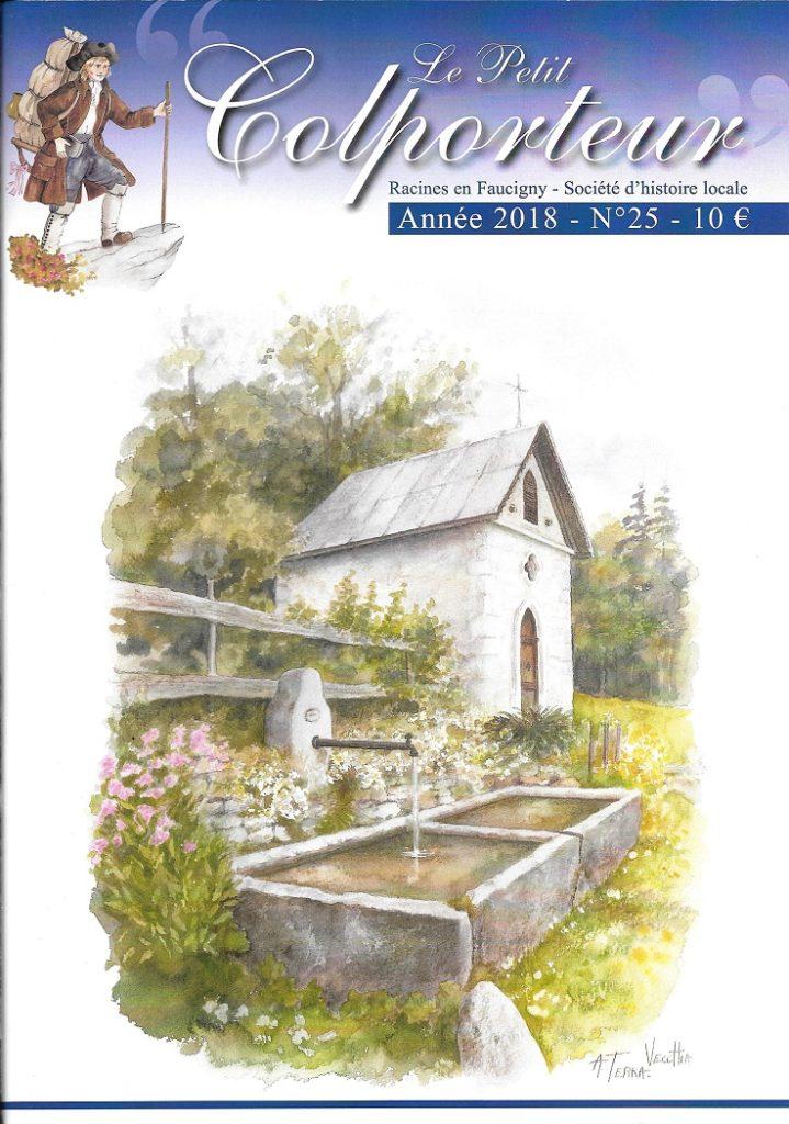 Revue Le petit colporteur par Racines en Faucigny n°25 2018
