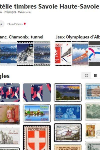 Timbres philatélie de Savoie sur Pinterest avec les Guides du Patrimoine Savoie Mont Blanc