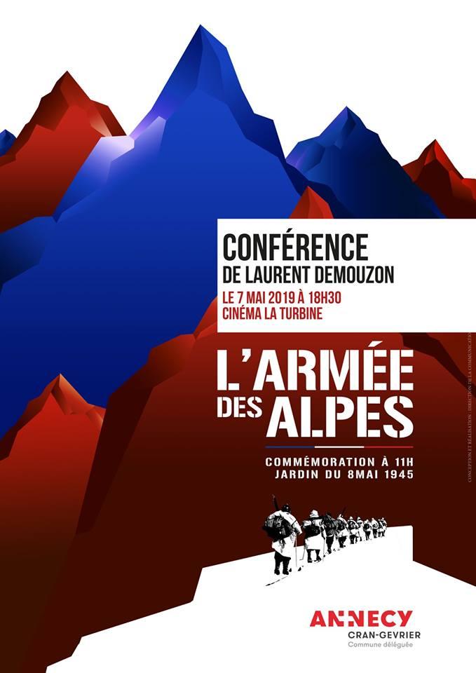 Conférence Laurent Demouzon Guides PSMB l'armée des Alpes
