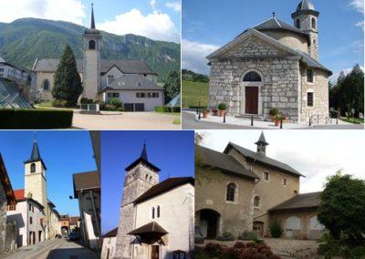 Clochers de Savoie propre visites Guides du Patrimoine Savoie Mont Blanc