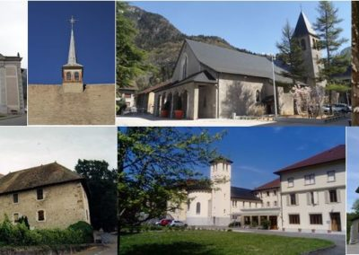 Clochers de la Basse vallée de l'Arve visites Guides du Patrimoine Savoie Mont Blanc