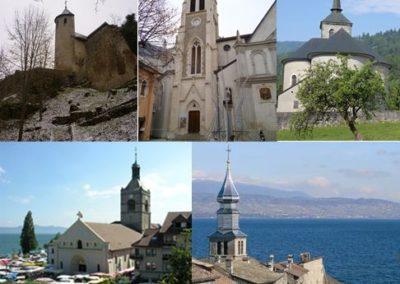 Clochers des rives du Léman Chablais visites Guides du Patrimoine Savoie Mont Blanc