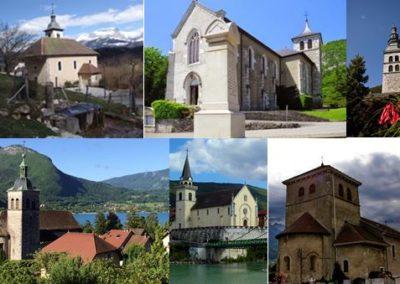 Clochers du Genevois visites Guides du Patrimoine Savoie Mont Blanc