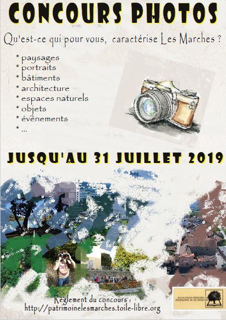 Concours photos mémoire patrimoine Les Marches 2019 avec les Guides du Patrimoine Savoie Mont Blanc