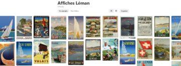 Exposition affiches vintage au Chateau de Ripaille Pinterest Guides du Patrimoine Savoie Mont Blanc