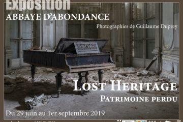 Exposition Lost heritage Paysages perdus à Abondance avec les Guides du Patrimoine Savoie Mont Blanc