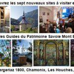 Nouveautés visites Guides du Patrimoine Savoie Mont Blanc 2019
