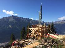 Télégraphe Chappe de Courberon Avrieux visites Guides du Patrimoine Savoie Mont Blanc