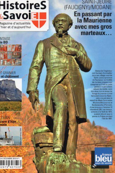Revue Histoires de Savoie avec les Guides du Patrimoine Savoie Mont Blanc