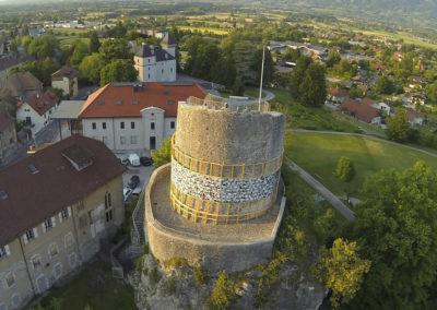 La Roche sur Foron visite Guides du Patrimoine Savoie Mont Blanc - la tour des contes de Genève