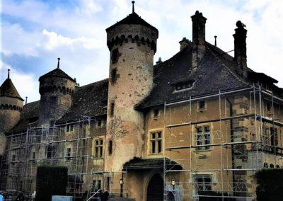 Chateau de Ripaille restauration toiture 2019 Guides PSMB (2)