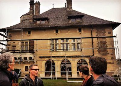 Chateau de Ripaille restauration toiture 2019 Guides PSMB (3)