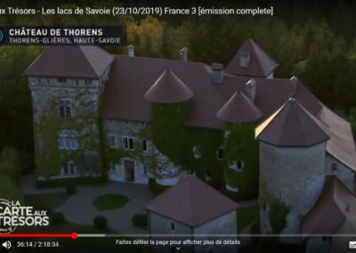 La carte aux trésors - Chateau de Thorens - Guides PSMB