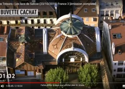 La carte aux tresors - Buvette Cachat Evian - Guides PSMB