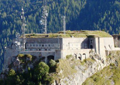 Valloire Fort du Télégraphe visites GPPS ©Jacky Martin