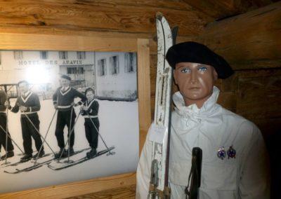 Le Hameau des Alpes La Clusaz -espace ski- visite Guides PSMB ®David Machet