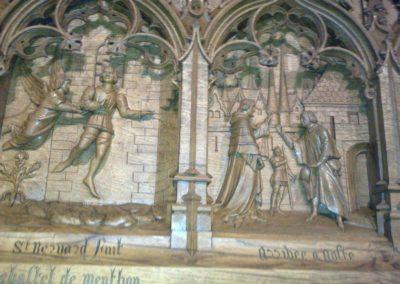 chateau de Menthon visite Guides PSMB détail intérieur