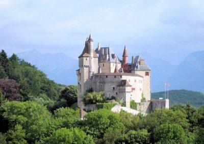 chateau de Menthon visite Guides PSMB printemps