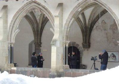 Abbaye Abondance neige reportage 8 Mont Blanc