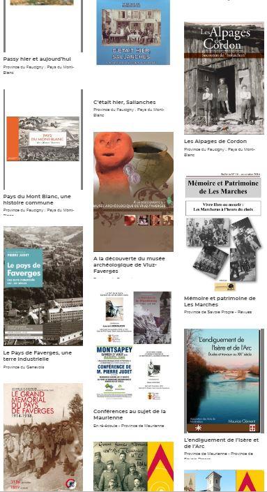 Médiathèque Guides du Patrimoine Savoie Mont Blanc